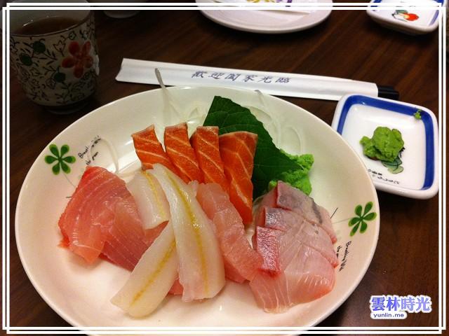 遠征彰化-鹿港春之園 平價又好吃的日式料理生魚片讚 !