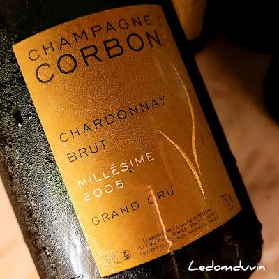 Agnès Corbon Chardonnay Grand Cru Millésime 2005 by ©LeDomduVin 2021