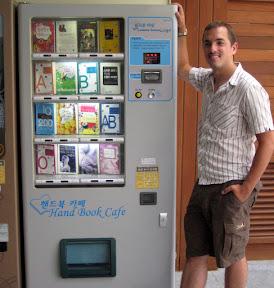 mom! it's a vending machine full of books! our friends!