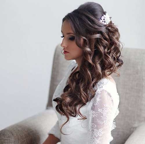 Wedding Hairstyle Summer 2018 Bridal Collections 4