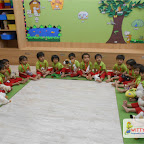 Pet tea party celebrated by Playgroup Class, Witty World, Chikoowadi (2017-18)
