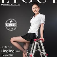 LiGui 2014.10.07 网络丽人 Model 凌凌 [48P] cover.jpg