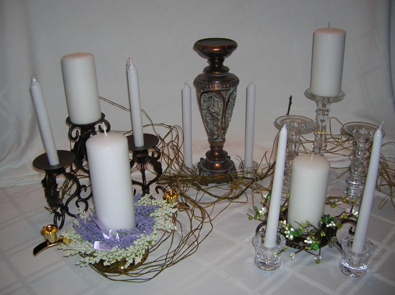 UNIQUE & YOURS WEDDINGS: UNITY CANDLE CEREMONY