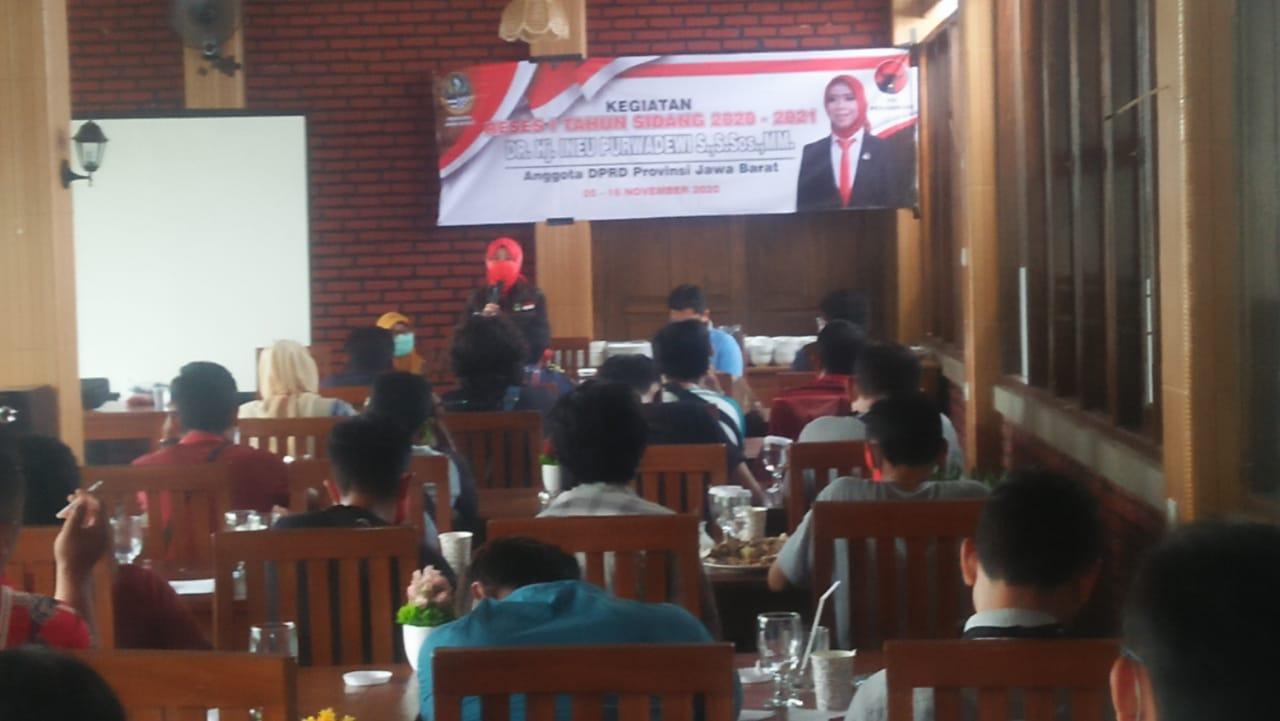 Ineu Purwadewi Sundari Monitor Bantuan Pemprop tahap tiga