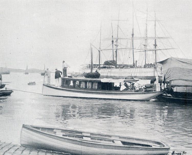 El yate TERESA. De la revista El Mundo Naval Ilustrado. Año 1900.jpg