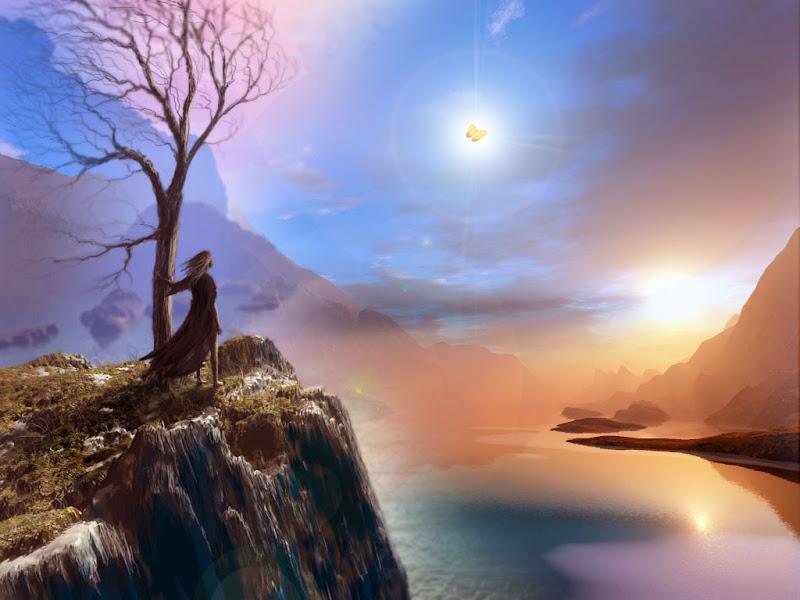Magick Landscape Of Fantasy 1, Magical Landscapes 4