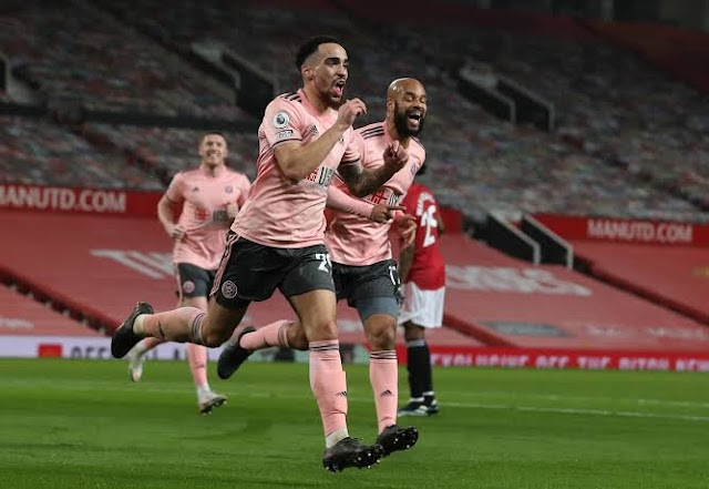 Man United Suffers A Huge Blow As Sheffield United Shock Them At Old Trafford