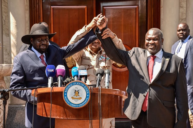 SOUTH SUDAN FORMS UNITY GOVERNMENT  AS TB JOSHUA'S PROPHECY COMES TO PASS