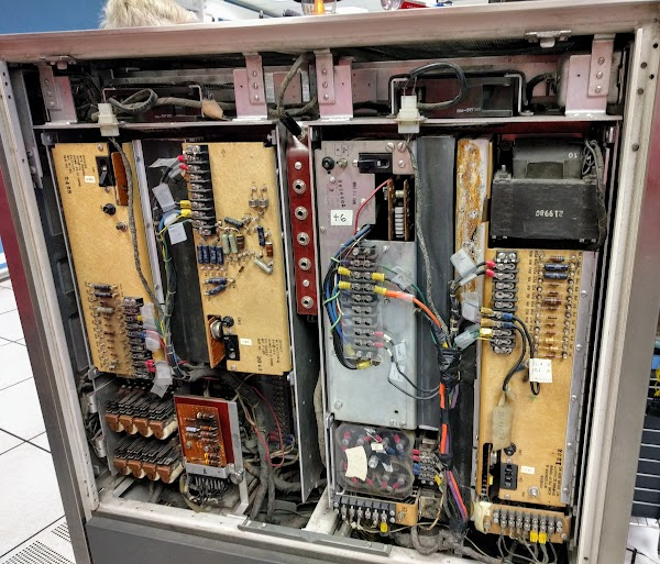 Power supplies in the IBM 1401.