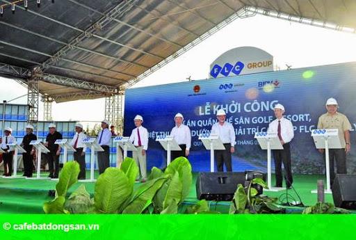 Hình 1: Tập đoàn FLC khởi công khu biệt thự nghỉ dưỡng 7 sao đầu tiên ở Việt Nam