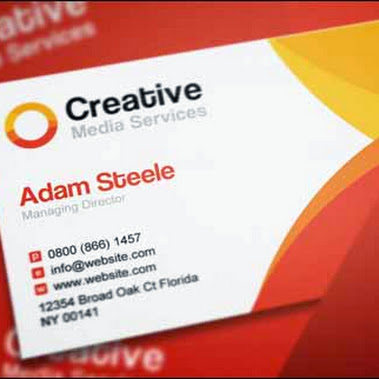 Print Do Google Reheart Choice Image Free Psd Creative Media Business Cards In 2 Color