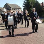 de brassband tijden het dauwtrappen in Chaam 2013.jpg