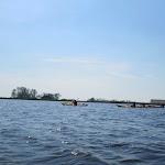 161-We steken de Aant Liewespoel over om via een grachtje naar het Fleussen te paddelen.