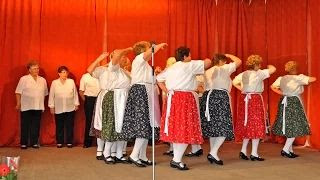 Kaposfő Nyugdíjas Klub - Karikázó tánc