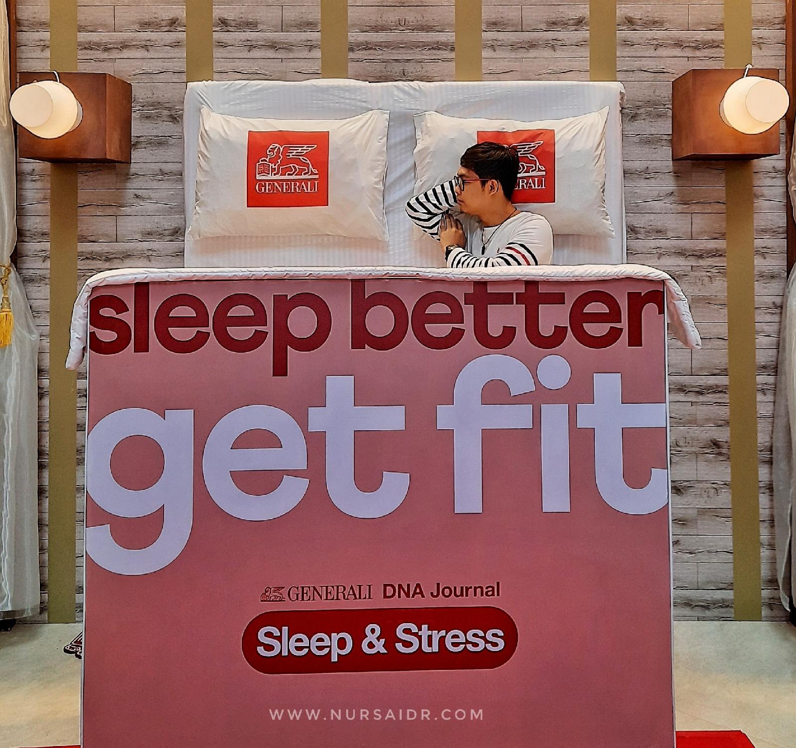 solusi susah tidur dan stres