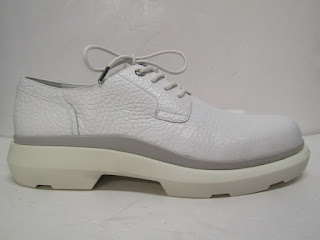 Calvin Klein Platinum Collection White Lace Ups