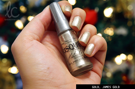 Esmalte da Semana: Gold, James Gold
