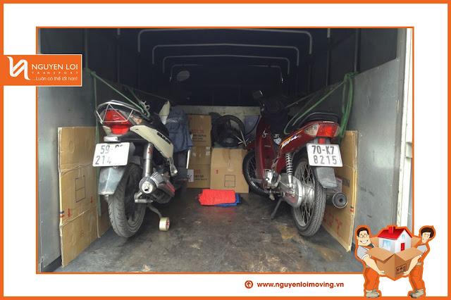 Giá thuê xe tải chuyển nhà tại TPHCM
