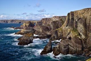 Cliffs, Mizen. From Driving Ireland's Wild Atlantic Way