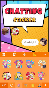 Personal Avatar Chat Sticker for Snapchat&Bitmoji