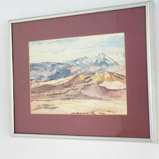Michael Reisenberg Signed Watercolor #3