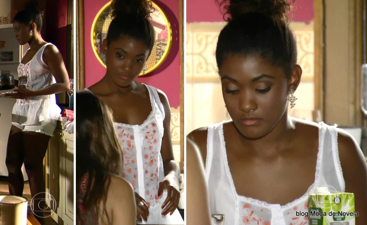 moda da novela Em Família - look da Alice dia 2 de junho
