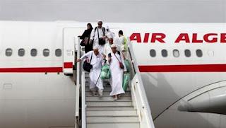 Aéroport d'Oran: arrivée du 1er groupe de hadji de retour des Lieux saints