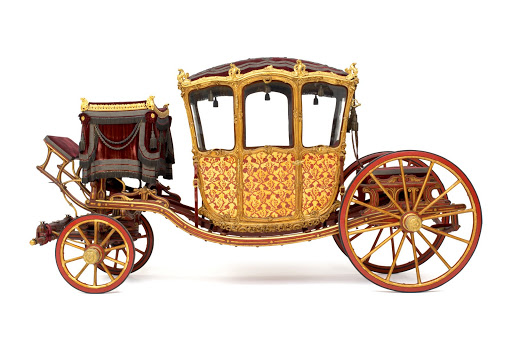 Gala Carriage of the Vienna Court. From The Museum of Fine Arts Houston Cloaked in Magnificent Opulence