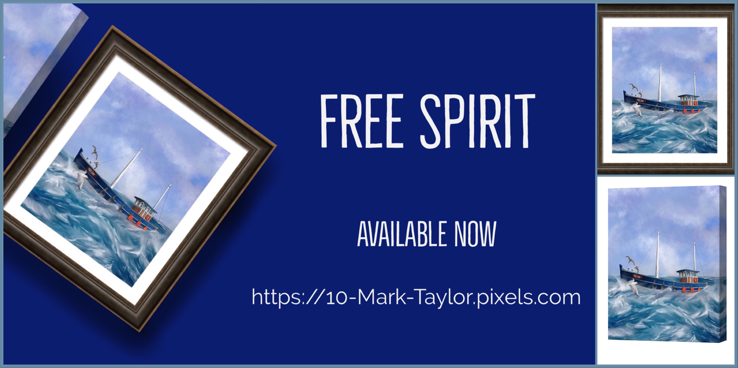 free Spirit Artwork by MA Taylor on Pixels