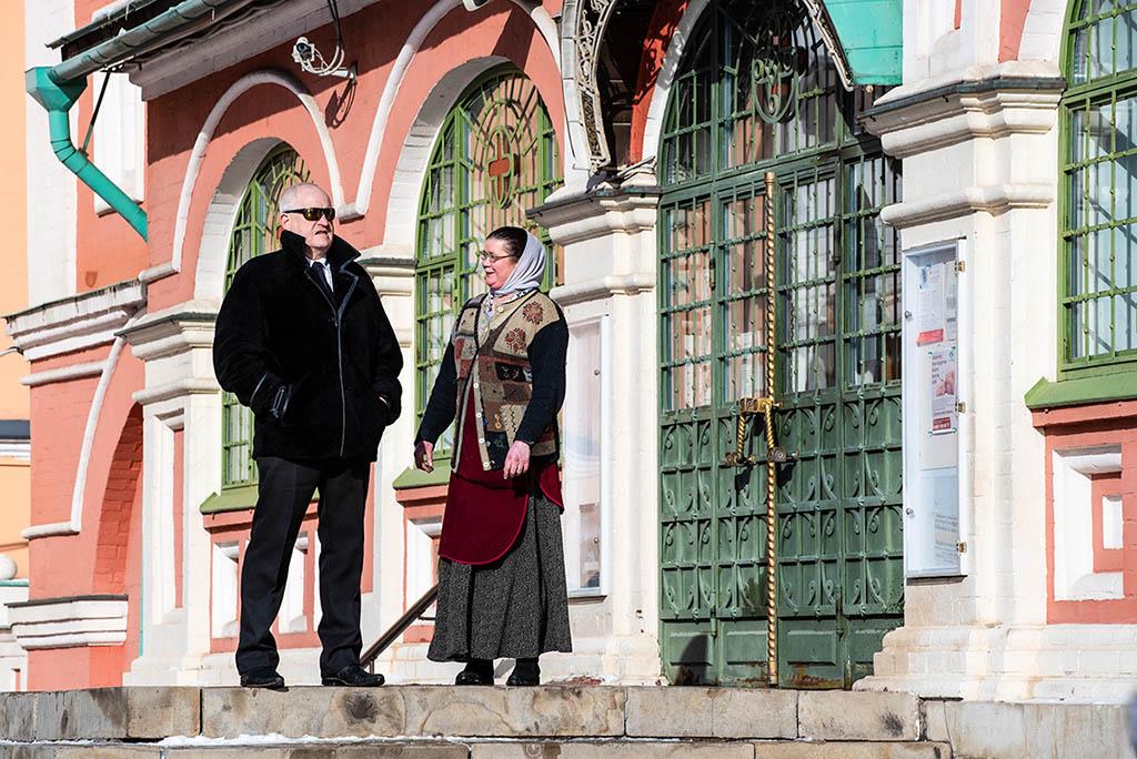 莫斯科 紅場 街景 市民