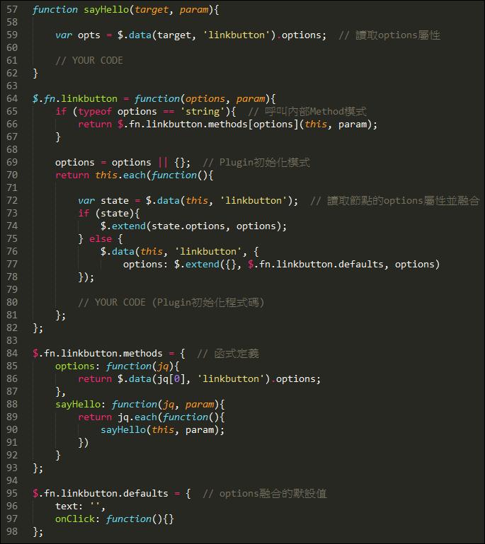 LinkButton Framework