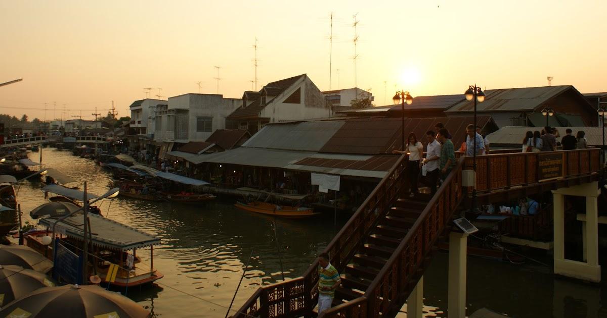 安帕瓦[Amphawa]水上黃昏市集與夜遊湄公河