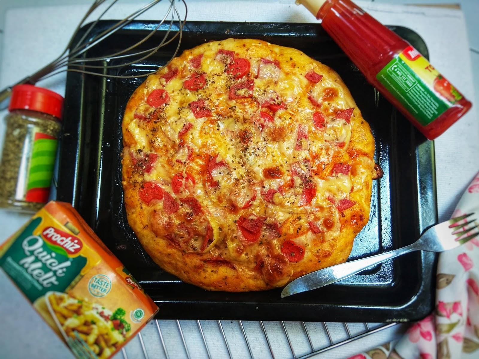 Resep Pizza Tanpa Ulen No Knead Pizza