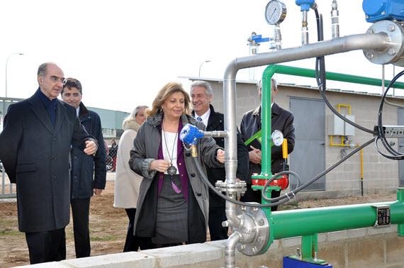 Red de gas natural de más de 8.400 kilómetros en la Comunidad de Madrid