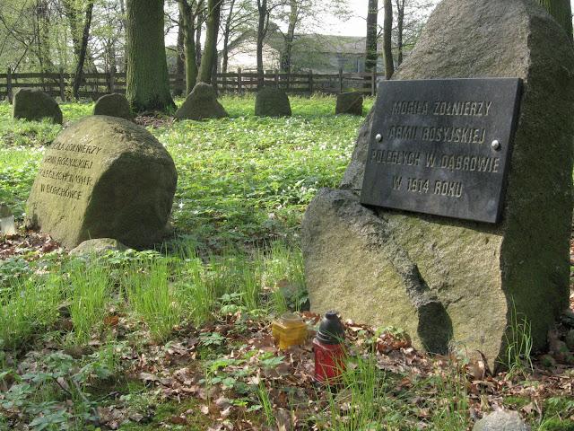 cmentarz wojenny, Las Wiączyński