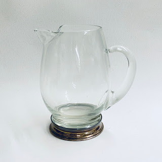 Sterling Silver Footed Juice Pitcher