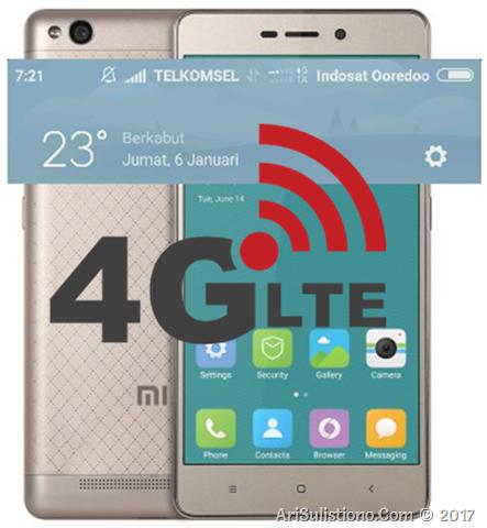 Xiaomi Redmi 3 4G LTE