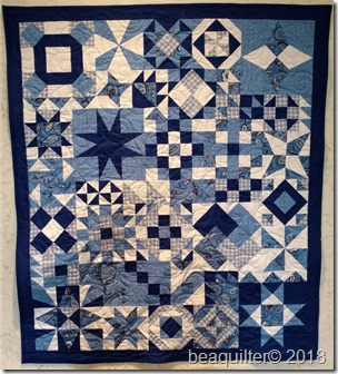 long arm quilting qube sampler quilt