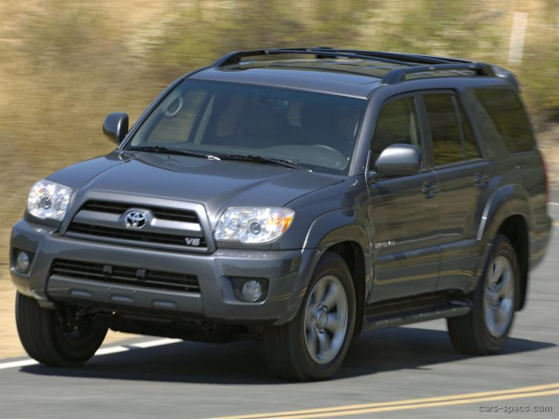 2009 toyota 4runner suv specifications pictures prices. Black Bedroom Furniture Sets. Home Design Ideas