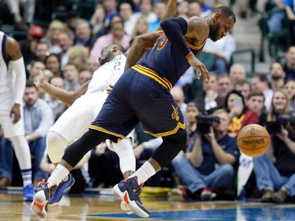 LBJ Debuts Team LeBron 13 in OT Win in Dallas