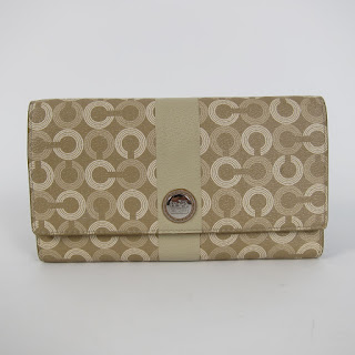 *SALE* Coach Tan Logo Wallet