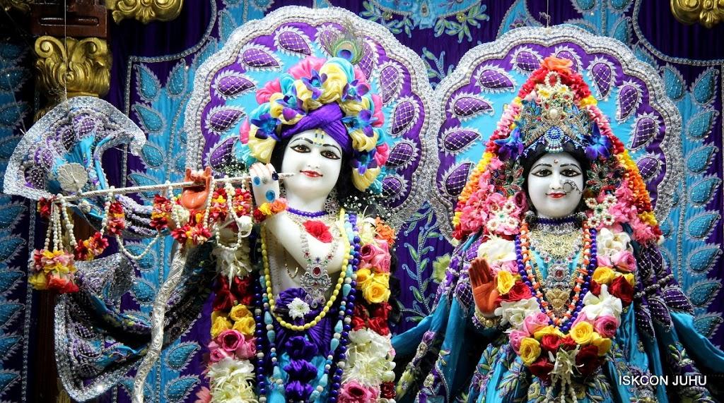 ISKCON Juhu Sringar Deity Darshan 17 Aug 2016 (4)