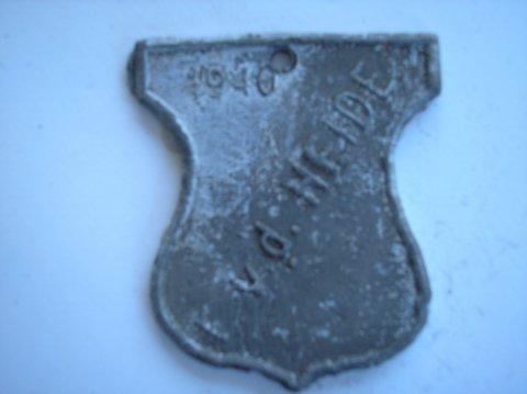 Naam: F v/d HeidePlaats: LeeuwardenJaartal: 1940