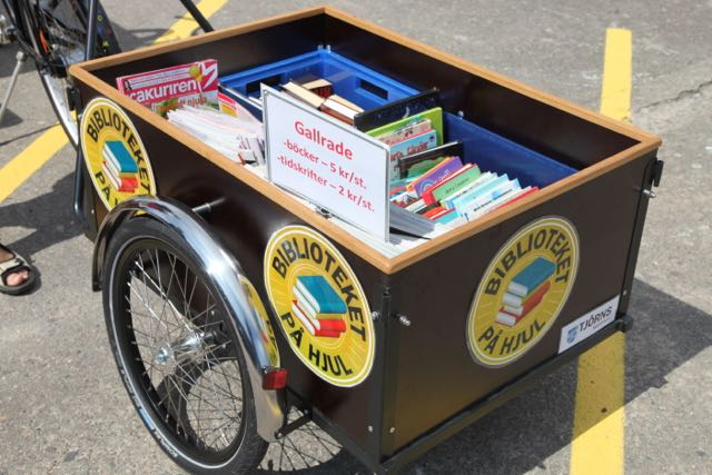 Lastcykel mobilt bibliotek Skärhamn