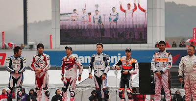 Dani Pedrosa Honda Racing Thanks Day 2012