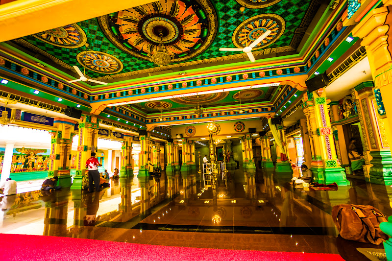 クアラルンプール チャイナタウン スリ・マハ・マリアマン寺院2