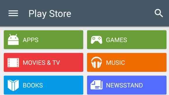 rất nhiều nội dung giải trí có trên play Store
