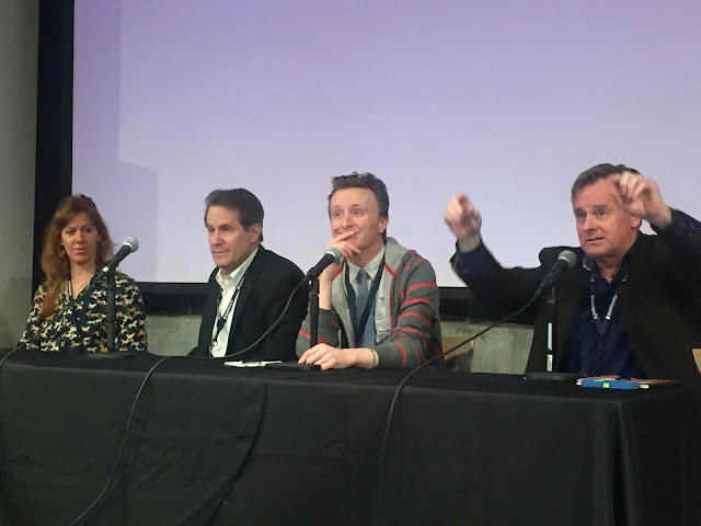 Actors panel, MSPIFF, Kate Nowlin, Peter Moore, Paul Cram, and Patrick Coyle