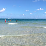 crystal clear water at Soho House beach in Miami, Florida, United States