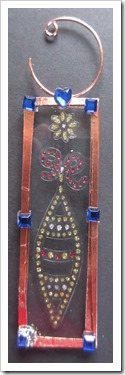 Microscope Slide Tree Decoration Christmas